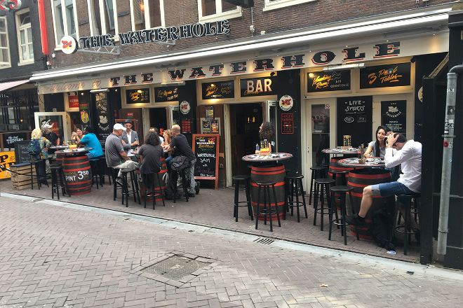The Waterhole Live Music Bar, Amsterdam, The Netherlands