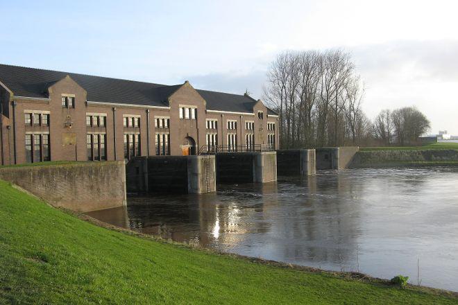 UNESCO World Heritafe Ir. D.F. Woudagemaal, Lemmer, The Netherlands