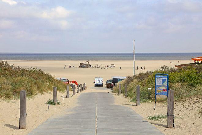 Vrouwenpolder Beach, Veere, The Netherlands