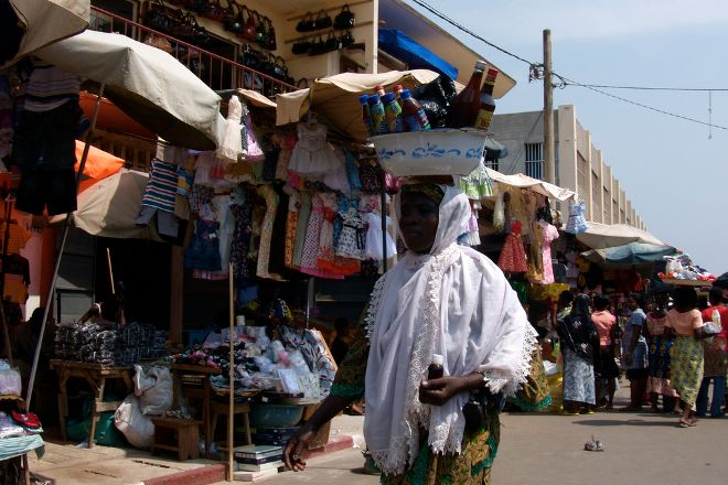 Grand Marche, Lome, Togo