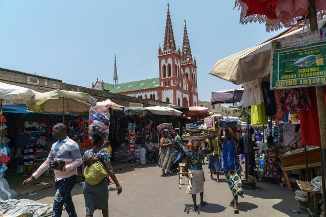 Lome Cathedral, Lome, Togo