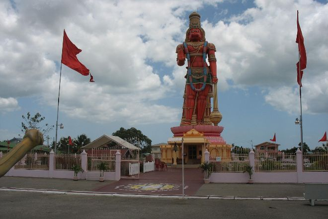 Dattatreya Temple and Hanuman Statue, Port of Spain, Trinidad and Tobago