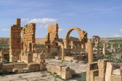 Haidra Ruins, Haidra, Tunisia