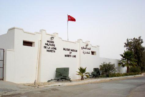 Military Museum Of Mareth Line, Gabes, Tunisia