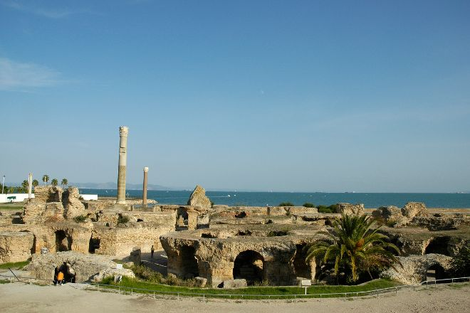Baths of Antoninus, Carthage, Tunisia
