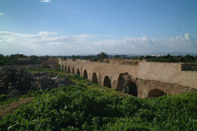 Carthage  Aqueduct, Carthage, Tunisia
