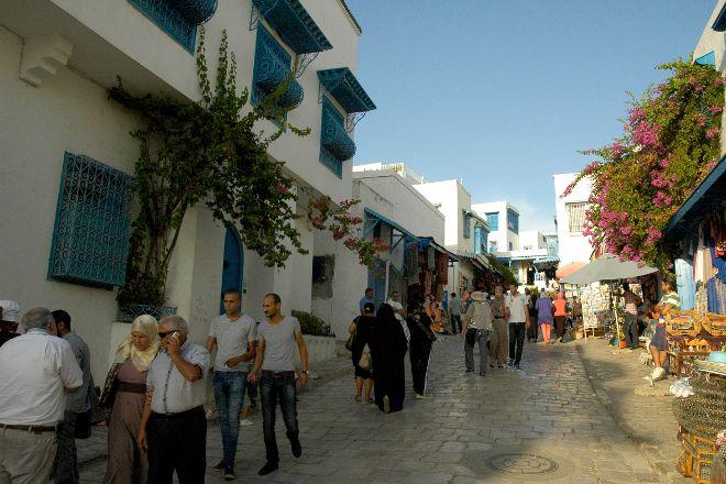 Centro storico, Sidi Bou Said, Tunisia