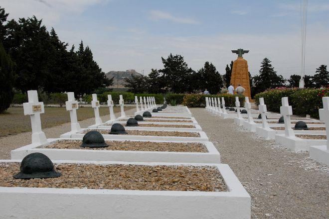 Cimetiere Militaire Francais de Takrouna, Tunis, Tunisia