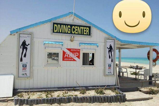 Dive Center: Blue Dolphin Djerba, Djerba Island, Tunisia
