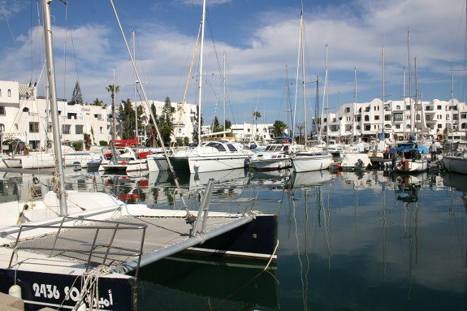 El Kantaui Port, Hammam Sousse, Tunisia
