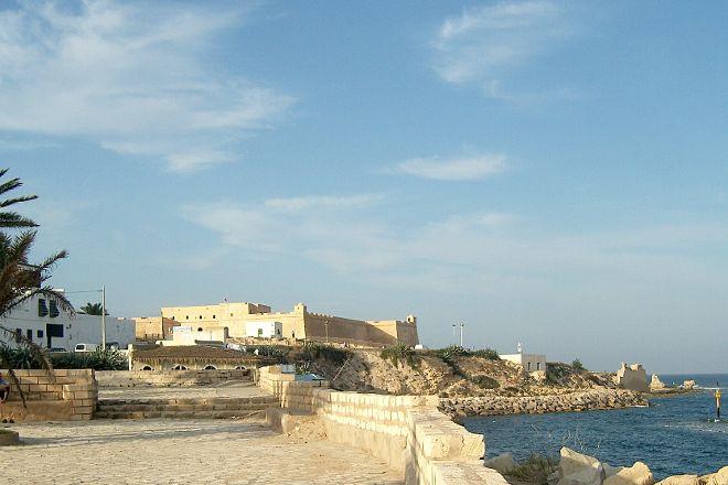 Fort Ottoman Borj El Kebir, Mahdia, Tunisia