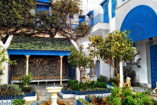 Palace Dar Nejma Ezzahra, Sidi Bou Said, Tunisia
