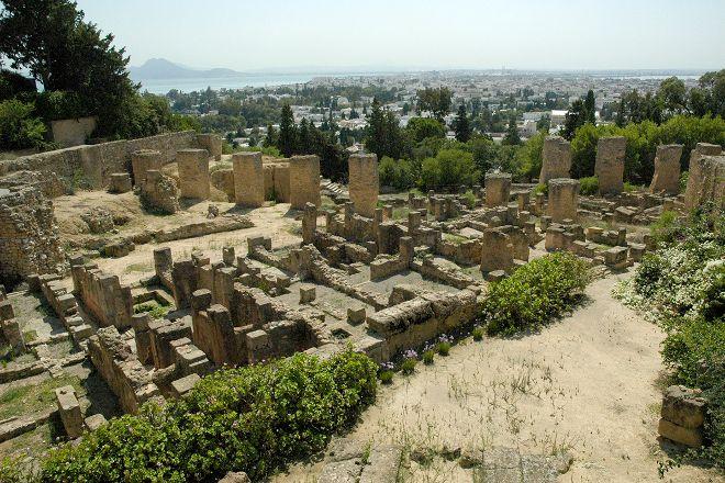 Site Archeologique de Carthage, Carthage, Tunisia
