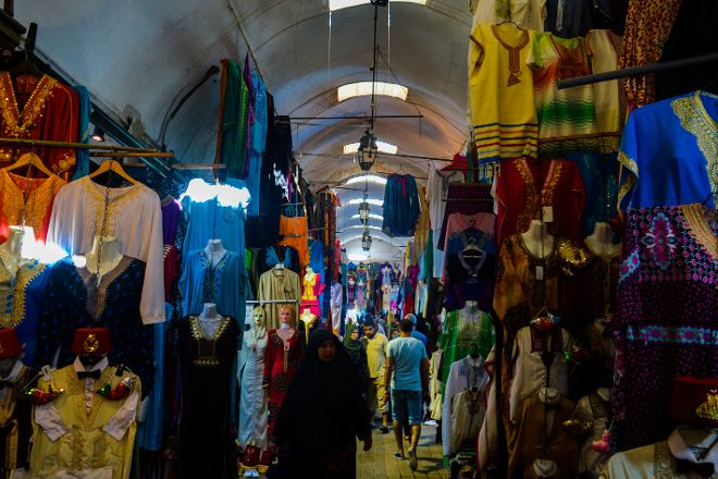 Souks, Sfax, Tunisia