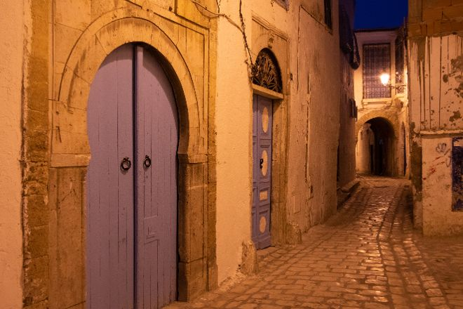 The doors of the medina, Tunis, Tunisia