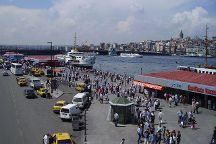 Eminonu Square, Istanbul, Turkey