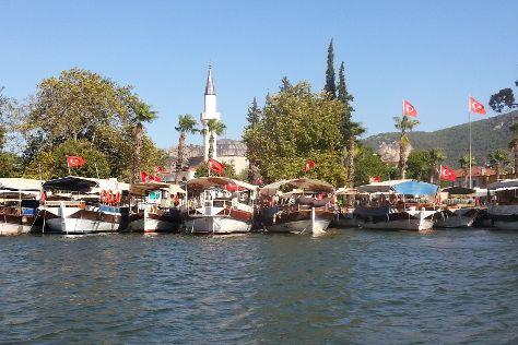 Dalyan Nehri, Marmaris, Turkey