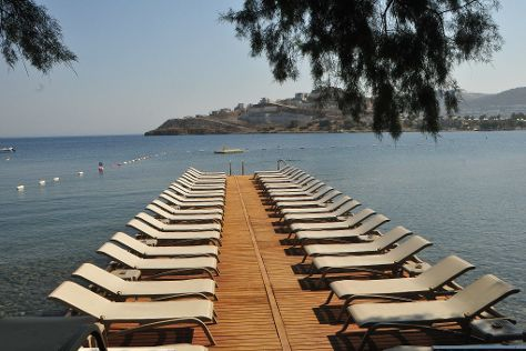 Magi beach, Yalikavak, Turkey