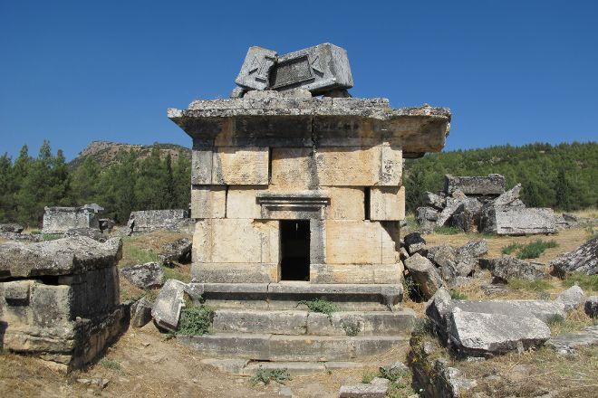 Anatolia Cemetery, Pamukkale, Turkey