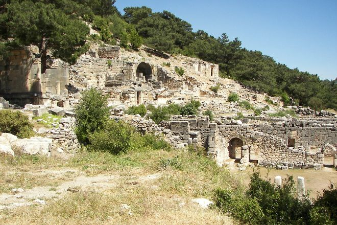 Arykanda, Demre (Kale), Turkey