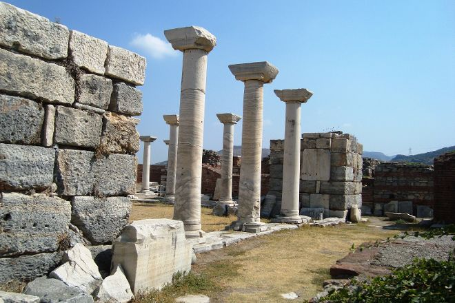 Basilica of St. Jonh, Izmir, Turkey