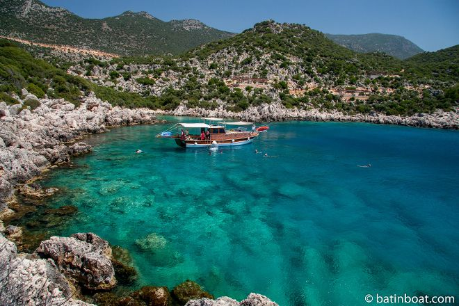 Batin Boat Tours, Kas, Turkey