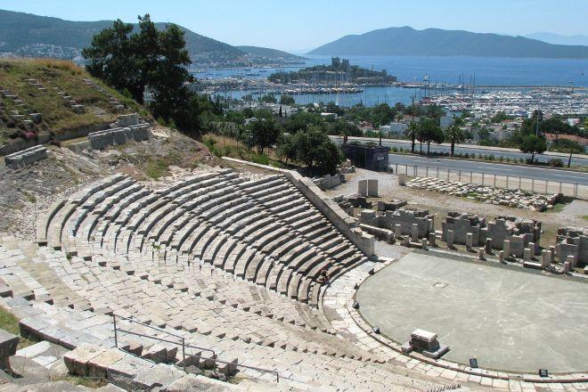 Bodrum Amphitheater, Bodrum City, Turkey