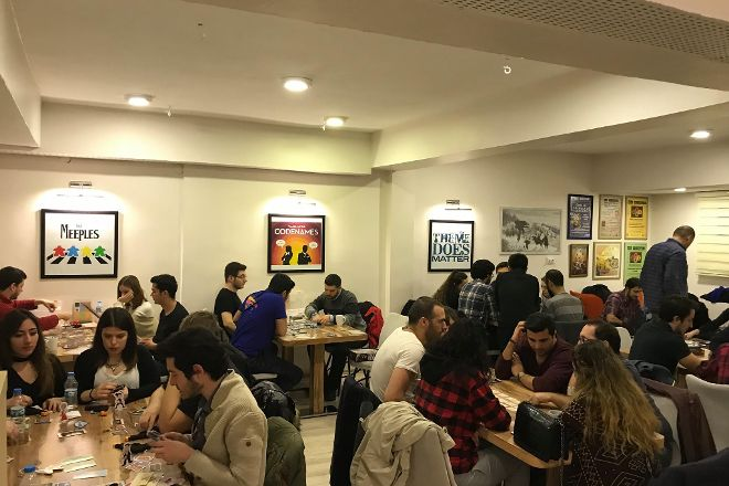 Da Vinci Board Game Cafe, Ankara, Turkey