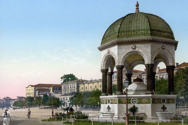 German Fountain, Istanbul, Turkey