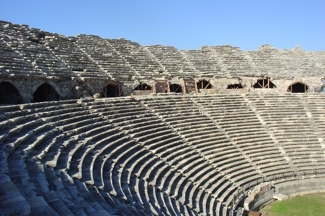Greek Amphitheater, Side, Turkey
