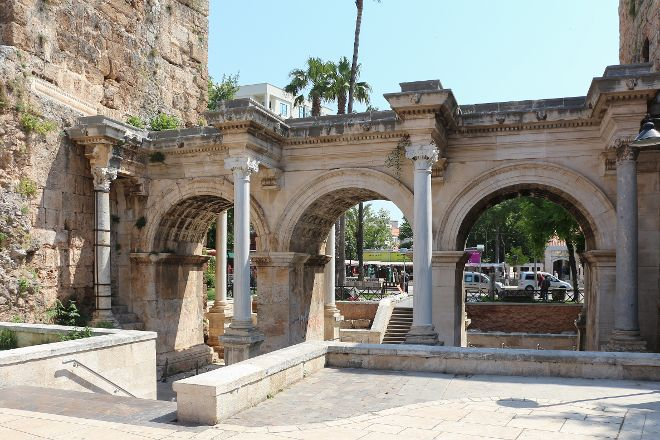 Hadrian's Gate, Antalya, Turkey
