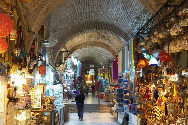 Kizlaragasi Han Bazaar, Izmir, Turkey