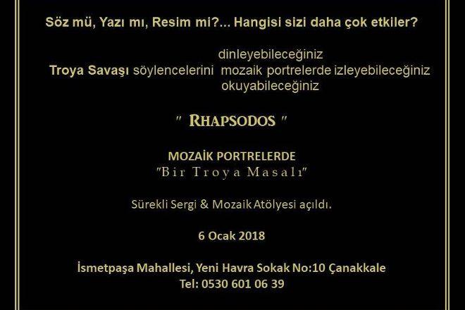 Rhapsodos Mozaik, Canakkale, Turkey