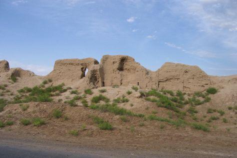 Abiverd Ruins, Kaakhka, Turkmenistan