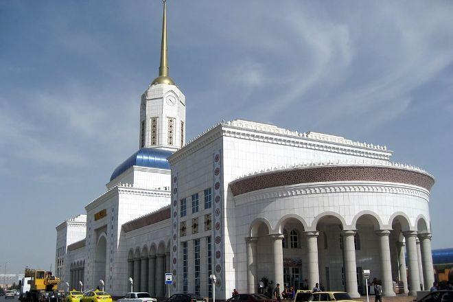 Ashgabat Train Station, Ashgabat, Turkmenistan