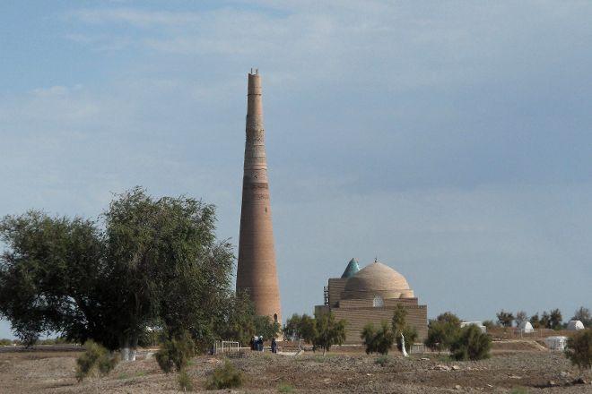Kutlug Timur Minaret, Kunya-Urgench, Turkmenistan