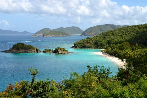 Trunk Bay Beach, Virgin Islands National Park, U.S. Virgin Islands