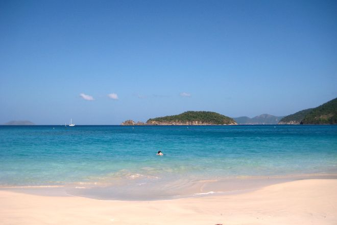 Cinnamon Bay Beach, Virgin Islands National Park, U.S. Virgin Islands