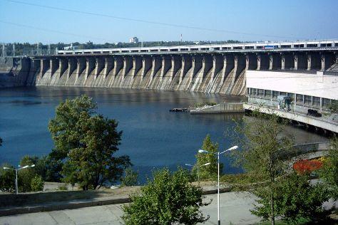 Dnieper Hydroelectric Station, Zaporizhzhya, Ukraine