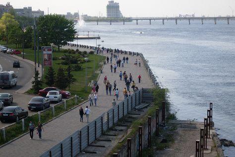 Dnipropetrovsk Quay, Dnipro, Ukraine