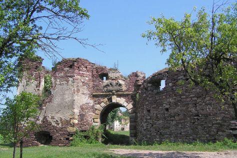 Pidzamochok Castle, Pidzamochok, Ukraine
