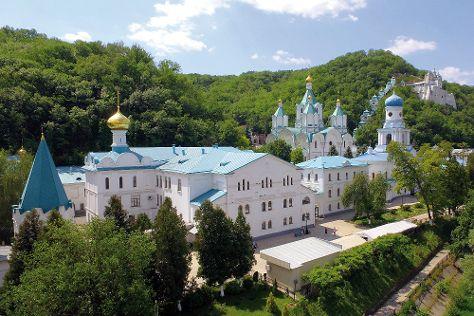 Sviatohirsk Cave Monastery, Sviatohirsk, Ukraine