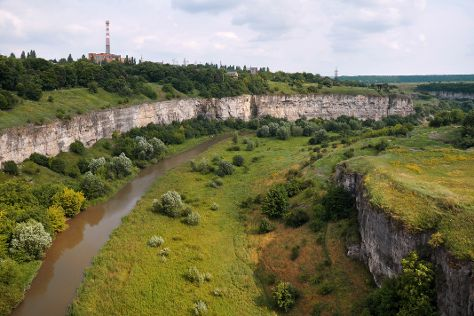 The Smotrych River Canyon, Kamianets-Podilskyi, Ukraine