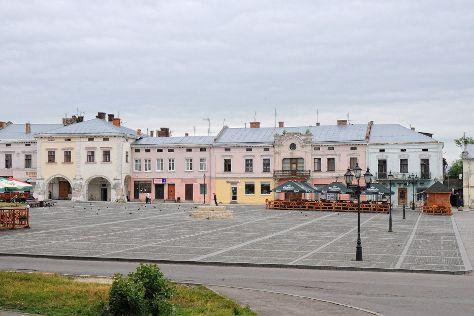 Vicheva Square, Zhovkva, Ukraine