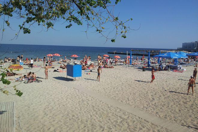 Beach Golden Shore, Odessa, Ukraine