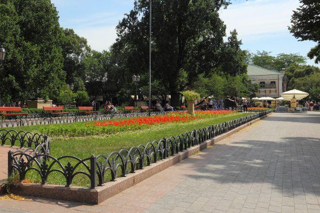 Deribasovskaya Street, Odessa, Ukraine