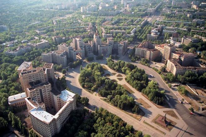 Freedom Square, Kharkiv, Ukraine