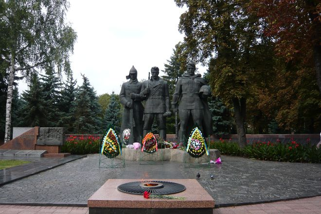 Glory Memorial and War Memorial Park, Vinnytsia, Ukraine