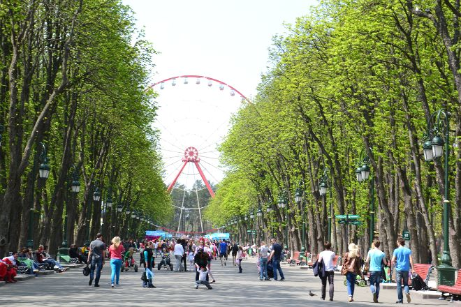 Gorky Central Park of Culture and Leisure, Kharkiv, Ukraine