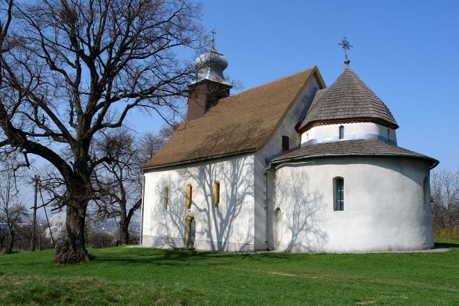 Goryany Rotunda - St. Anna Church, Uzhhorod, Ukraine